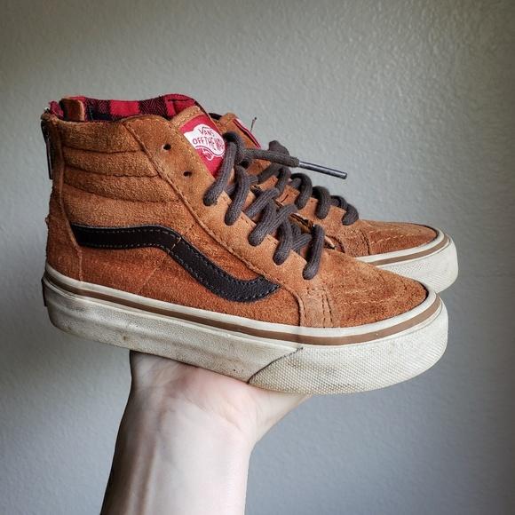 Vans Shoes   High Tops Burnt Orange